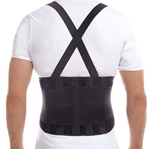 Fascia per schiena-Cintura lombare per lavoro-Cintura lombare elastica da lavoro-Corsetto per Sollevamento Pesante Lavoro Medium