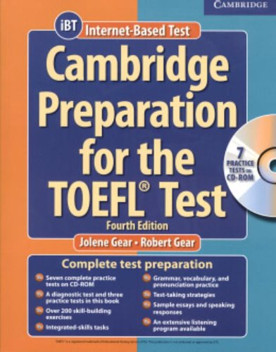 Cambridge Preparation for the TOEFL Test Book with CD-ROM and Audio CDs Pack