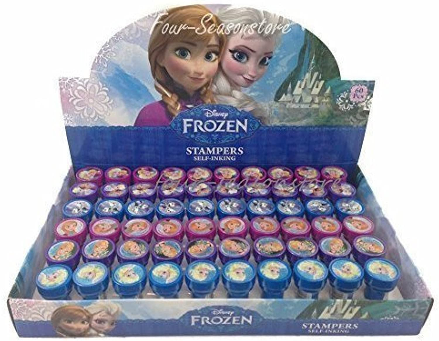 perfecto Disney Frozen Anna Elsa Olaf Olaf Olaf 60x Stampers Self-inking Birthday Party Favors by Disney by Disney  aquí tiene la última