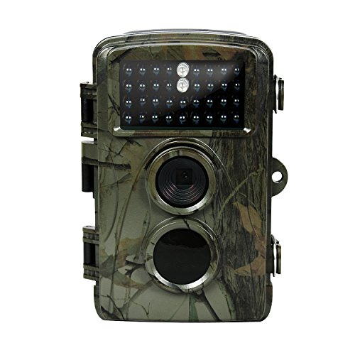 Trail Hunting Camera IP56 Waterproof Night Vision Trail Game Camera for Outdoor Monitoring 0.6S Trigger Speed and 65ft Trigger Distance Wildgame Cam DM-003