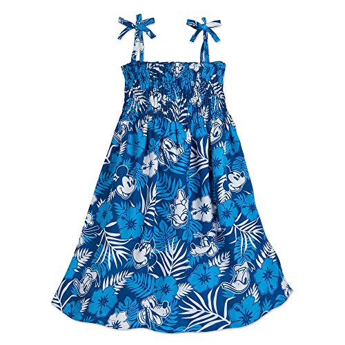 Disney Mickey Mouse and Friends Aloha Dress for Girls Hawaii Size 7/8