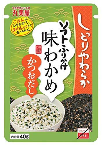 丸美屋食品工業 ソフトふりかけ味わかめ(かつおだし) 大袋 40g ×10袋