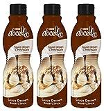 Nestlé Docello - sirope de chocolate - 3 botellas x 1 Kg - Total: 3 Kg