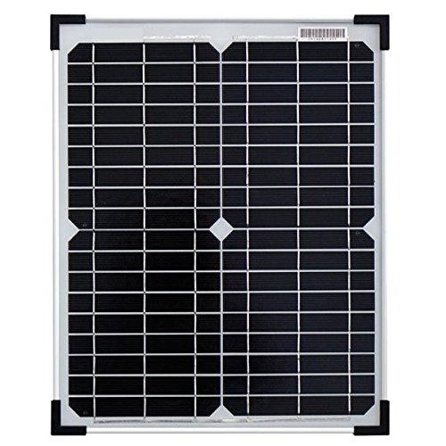 Panneau solaire 20 W monocristallin
