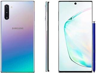 Samsung Galaxy Note 10+, 256GB, Aura Glow Silver - Fully Unlocked (Renewed)