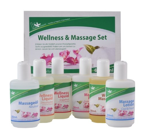 KK Wellness & Massage Set 6 x 50 ml Flaschen