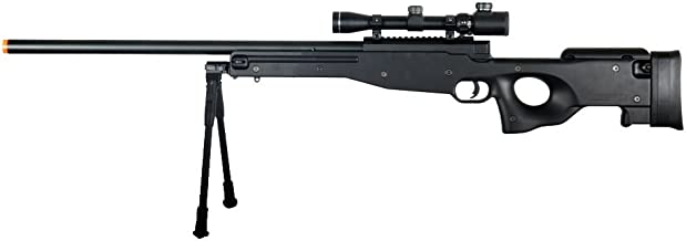 Double Eagle Full Metal L96 Bolt Action Sniper Rifle w/Scope & Bipod