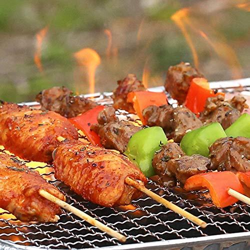 51dWHsT0lnL - TYZY Einweg-Grill Feld tragbarer Kohle Mini Kohlegrill Hohe thermische Effizienz Barbecue Ofen für Außenhandelshauptständer