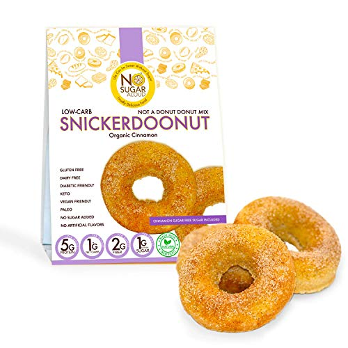 No Sugar Aloud Donut Mix (No Sugar Added, Gluten Free, Vegan, Paleo, Keto and Diabetic Friendly)