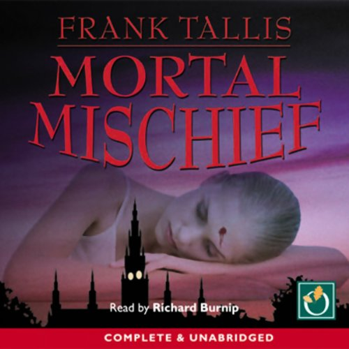 Mortal Mischief audiobook cover art