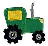 PatchMommy Tractor Parche Termoadhesivo Parche Bordado para Ropa - Parches Infantiles y Apliques para Niños