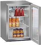 Liebherr FKv 503 Getränkekühler, Edelstahl, freistehend, 3 Regale, R600a, 42 Liter