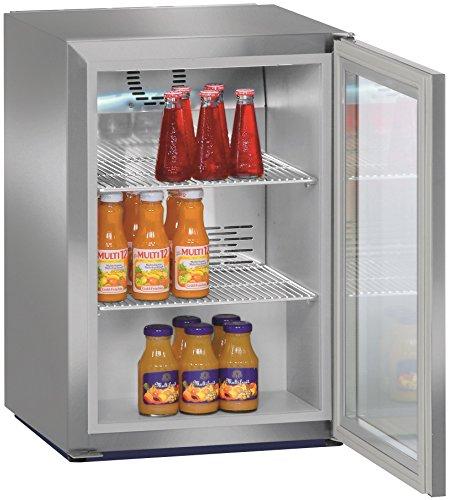 Liebherr FKV 503autonome Edelstahl Kühlschrank Getränkespender–Kühlschränke Getränkespender (autonome, Edelstahl, 3Einlegeböden, rechts, R600a, 42l)