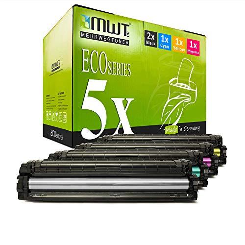 5X MWT Toner für Samsung Xpress C 1810 1860 fw W Premium Line ersetzt CLT-504S