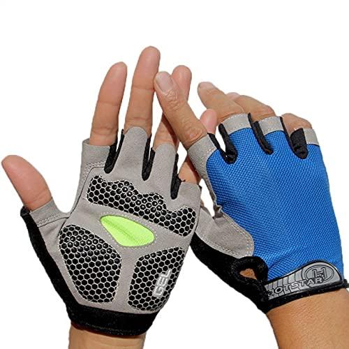 Männer Frauen Sport gepolstert Anti-Rutsch-Handschuhe Fitnessstudio Fitness Gewichtheben Bodybuilding Übungstraining Workout-a21-XL