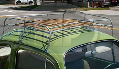 IAP Silver Frame Roof Rack Volkswagen 1949-1977 Bug 1971-1977 Super Beetle Type 1