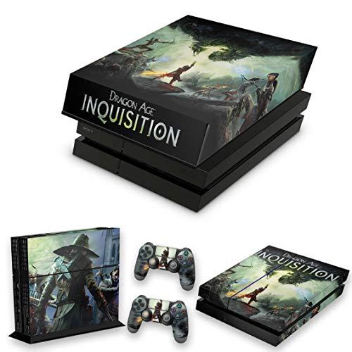 Capa Anti Poeira e Skin para PS4 Fat - Dragon Age Inquisition