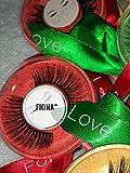 Juvena by Maba - Pestañas postizas 3D 4D 5D 9-16 mm, aspecto natural de drama, color negro, hechas a mano y reutilizables, 20 unidades, para bodas, fiestas, cumpleaños
