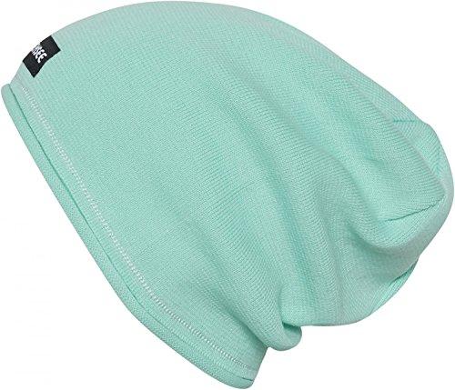 Chiemsee Unisex Strickmütze Beanie Mütze Farbwahl, Farbe:grün, Grösse:ONE Size