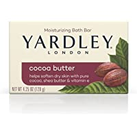 Deals on Yardley London Pure Cocoa Butter & Vitamin E Bar Soap 4.25Oz