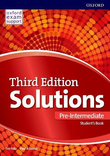 Solutions Pre-Intermediate Sb and Online Practice Pack - 3Rd Ed
