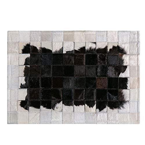 XYH Hogar Puerta Puerta Puerta Puerta nórdica Vaca Empalme Alfombra Antideslizante Impermeable Impermeable a Prueba de Humedad Simple Simple pisot (Color : Pattern 1, tamaño : 40X60CM)