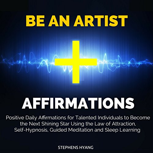 Be an Artist Affirmations audiobook cover art