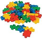 Fun Express Puzzle-Shaped Block Set (50 Pcs) 2 1/4' X 1 3/8'. Plastic.