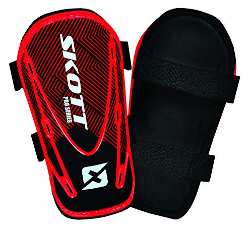 skott Soccer Shin Guard for Kids - Great Protection - Super Quality and Price - with or Without Sock Option - Best Youth and Kids Equipment (Small, No Sock)