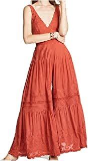 Womens Paloma Cotton Pleated Jumpsuit