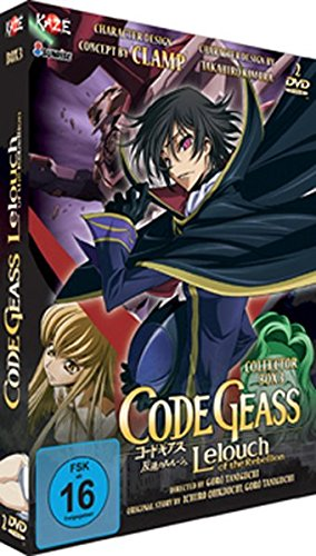 Code Geass - Lelouch... - Box 3 [LE] [2 DVDs] Code Geass - Lelouch... - Box 3 [LE] [2 DVDs] [Import allemand]
