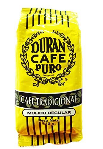 Café Duran Panama Highest Quality Ground Coffee Duran From Boquete Tradicional Regular Ground 0.5 Pound
