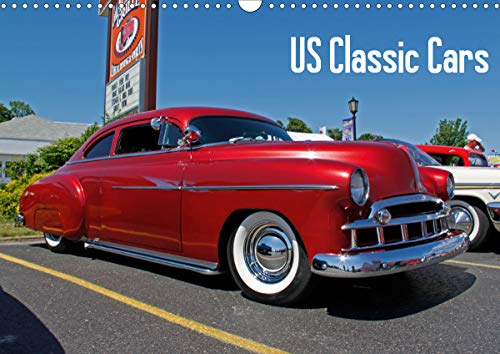 US Classic Cars (Wall Calendar 2021 DIN A3 Landscape)