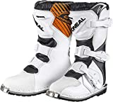 O'NEAL Rider MX Kinder Motocross Supermoto Motorrad Stiefel weiß 2020: Größe: 30