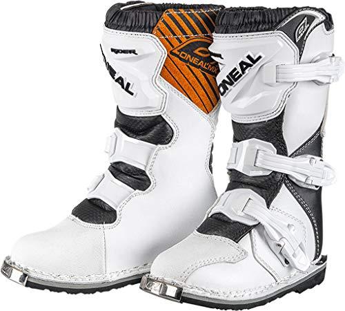O'NEAL Rider MX Kinder Motocross Supermoto Motorrad Stiefel weiß 2020: Größe: 34