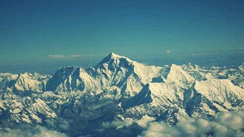 ASWETOTG HDRompecabezas para Adultos Monte Everest Niños Desafío de Inteligencia educativa Rompecabezas Regalo de cumpleaños