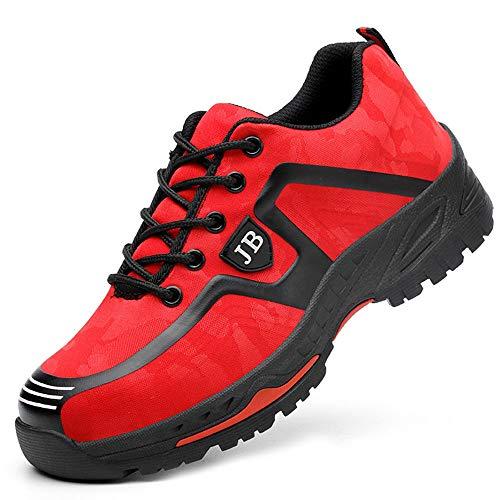 Zapatos de seguridad, ligeros, Kevlar, para hombres y mujeres, zapatos de...