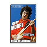 Gary Moore The Concert Poster Run for Cover Offenbach 1985