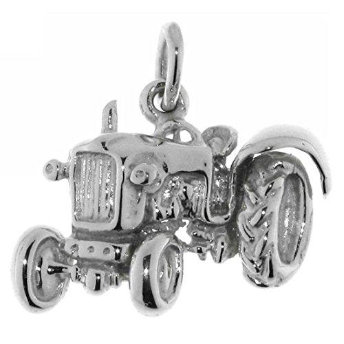 Derby Anhänger Traktor Schlepper Trecker Bulldog echt Silber 23503