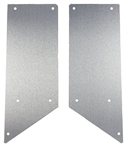 AMF Racing Axial Wraith Aluminum Half Side Panel Set (Straight Style)