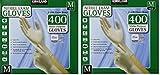 Kirkland Signature MEOhoj Nitrile Exam Multi-Purpose Medium Gloves Latex-free, 400 Count (2 Pack)