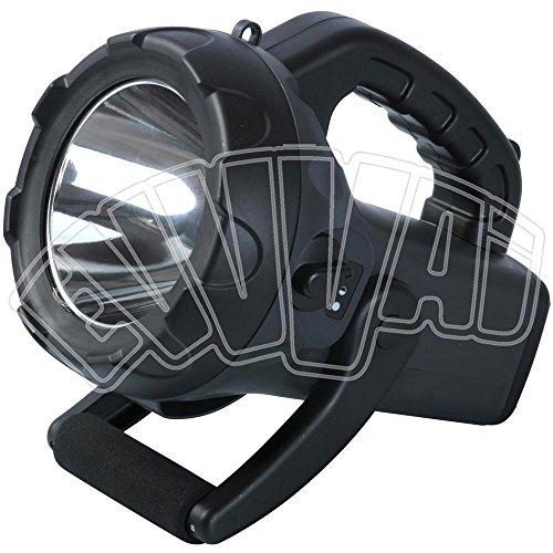 Ribitech PRTORZ10W Torcia LED 10 W, Nero
