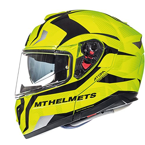 Casco integral Amarillo Fluor (L)