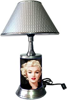 JS Marilyn Monroe Desk Lamp with chrome shade