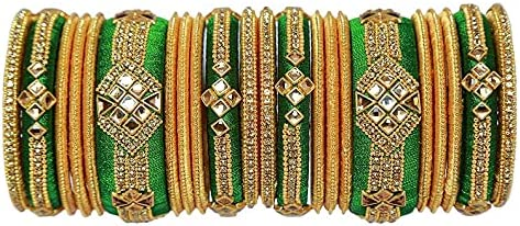 Handmade Bridal Silk Thread Bangles for women and Girls