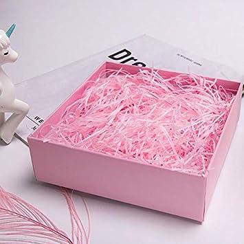 Shredded Tissue Paper for Gift Packaging and Gift Box Filling 200g Shredded Paper for Gift Box Red Gift Basket Filling