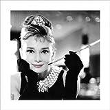 1art1 Audrey Hepburn - Frühstück Bei Tiffany S/W Poster