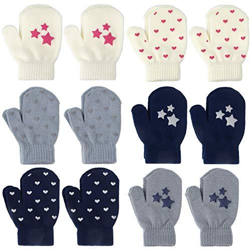 TUPARKA 12 pares guantes estiramiento mágicos niños