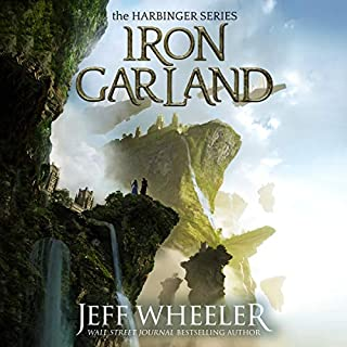 Iron Garland audiobook cover art