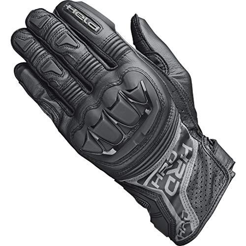 Held Motorradhandschuhe lang Motorrad Handschuh Kakuda Handschuh schwarz 7, Herren, Sportler, Ganzjährig, Leder